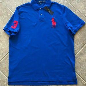 Polo Ralph Lauren Polo Mesh Polo Shirt Mens L